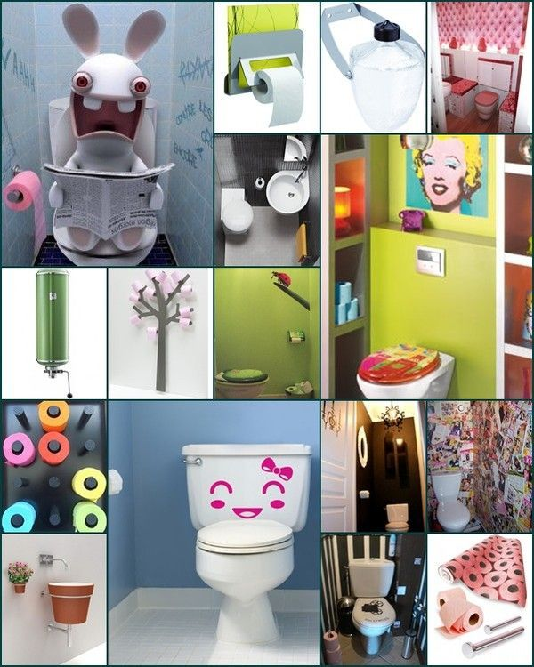 déco toilettes fun